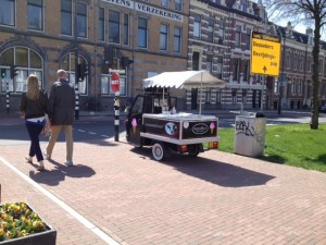 foto piaggio bevrijdingsdag Haarlem 2013